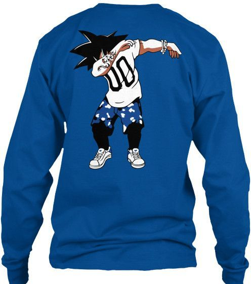 Super Saiyan Goku Dab Dance Long Sleeve Shirt - TS00234LS