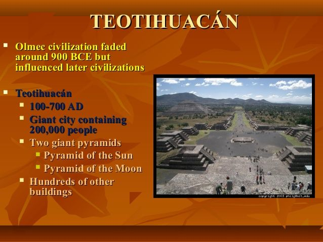Early civilizations of the mesoamerica