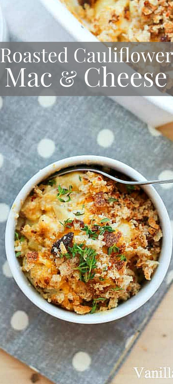 Stealthy Veggies Shine In This Creamy Cheesy Roasted Cauliflower Mac Cheese Vegetarian Veggie Recipes Vegetarian Recipes Healthy Vegetarian Recipes Dinner