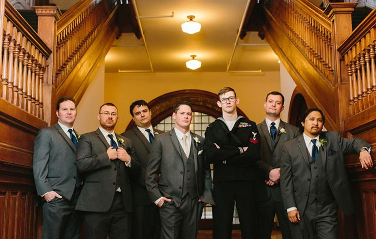 Groom and groomsmen | fabmood.com
