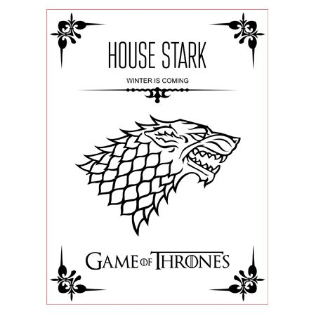 Game Of Thrones House Stark 3d Illusion Lamp Vector File For Cnc 3bee Studio 3d Illusion Lamp 3d Illusions Game Of Thrones Houses