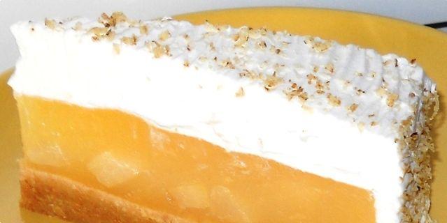 Torta sa kruškama — i keksima te pudingom, ne peče se :D