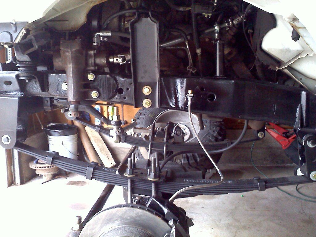 Ford78 - ford ranger dana 44 leaf spring solid axle swap  | Solid