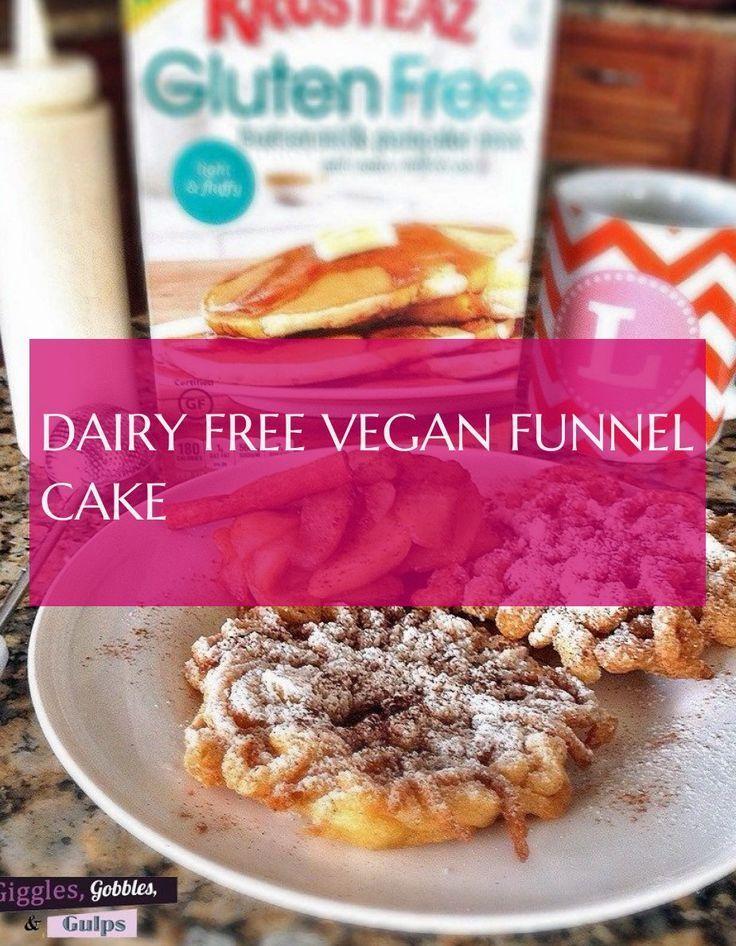 Dairy free vegan funnel cake milk free vegan funnel cake