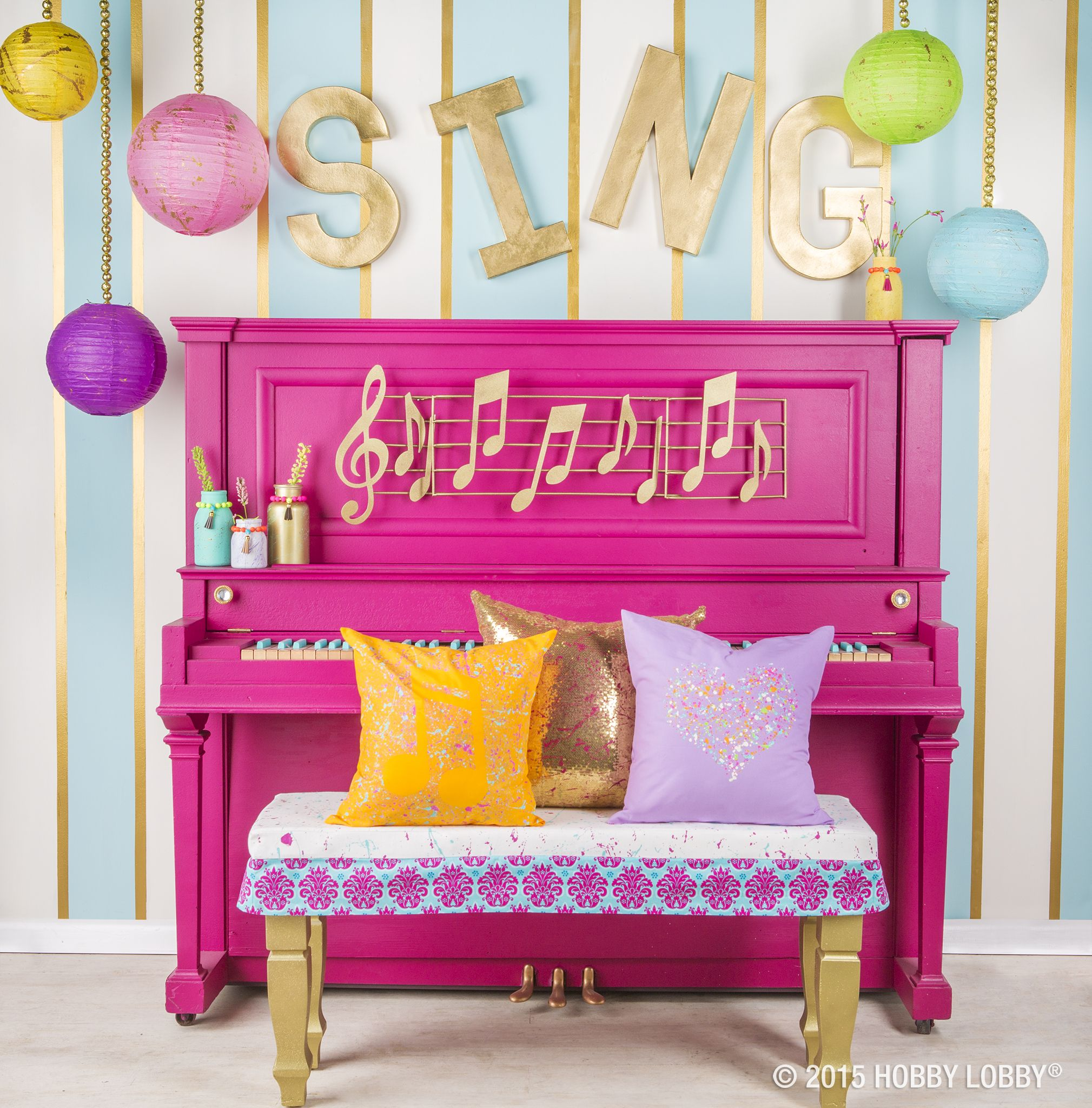 From Jars To Pillows, And Seat Covers To Pianos