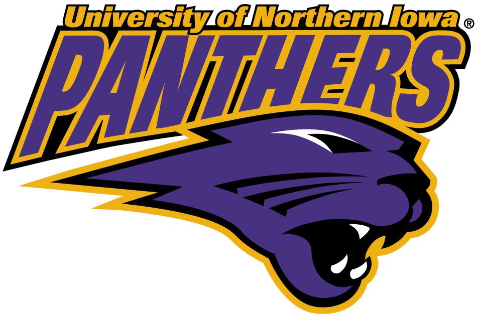 Northern Iowa Panthers Secondary Logo Northern Iowa Iowa Panthers