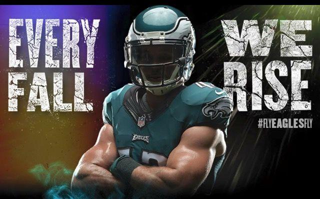 87b1c0b8 Every Fall, We Rise! Eagles Baby! | Philadelphia Eagles | Go eagles ...