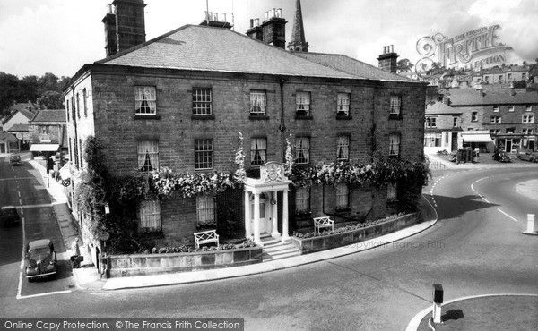 Bakewell Rutland Arms Hotel C 1955 Francis Frith Bakewell Derbyshire Bakewell Rutland