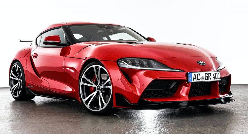 2020 Supra Is Ac Schnitzer S First Modded Toyota Boasts 394 Hp Carscoops New Toyota Supra Toyota Supra Japanese Sports Cars