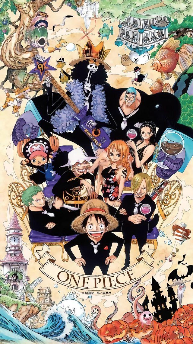 Upscaled One Piece 20th Anniversary Wallpapers...at last