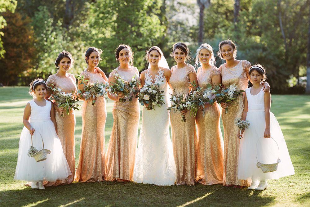 The Great Gatsby Bridesmaids White Runway Blog