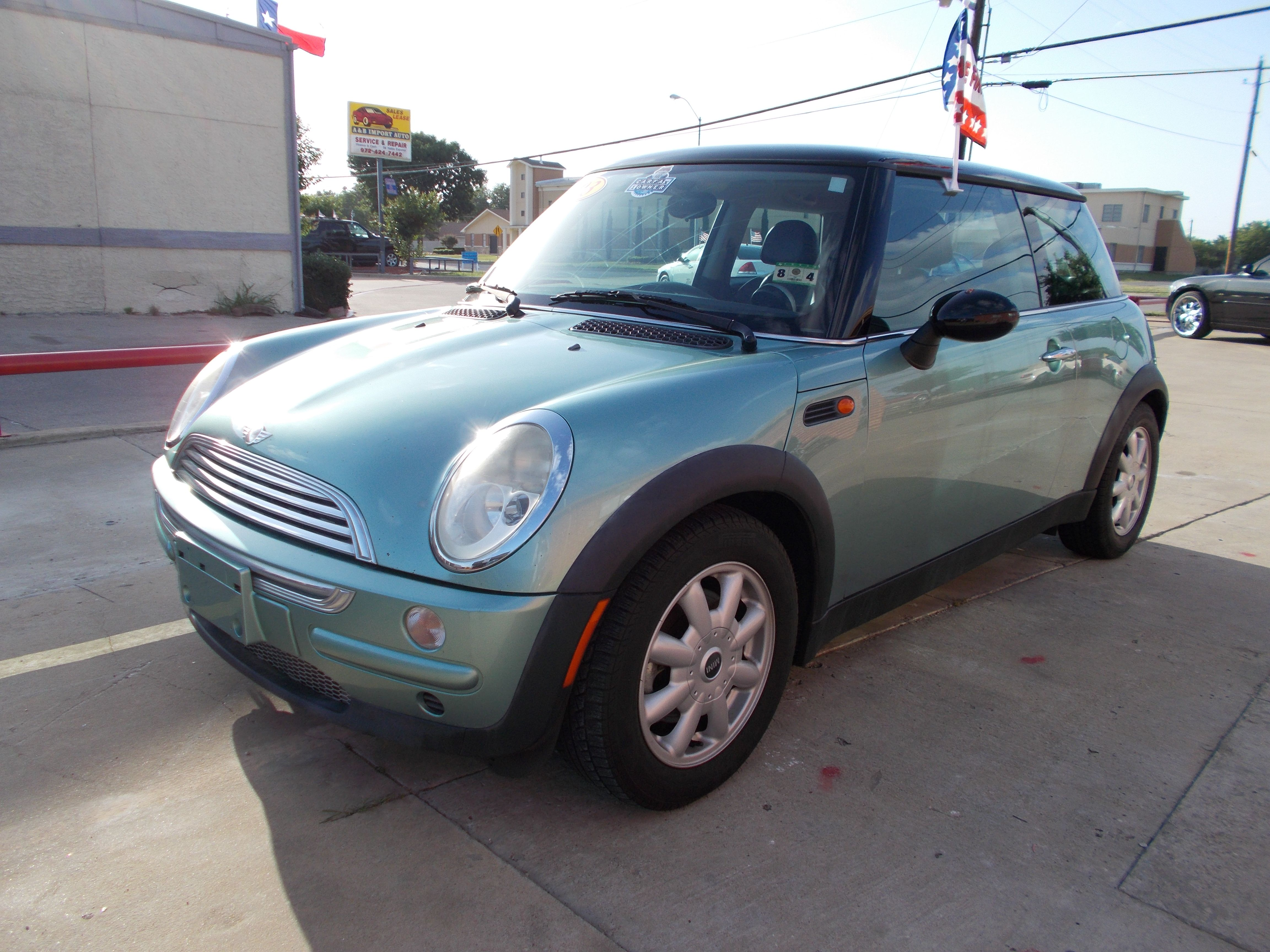 2003 Mini Cooper 1 Owner Carfax Certified Used Car Call Broadway Vehicles At 972 422 4299