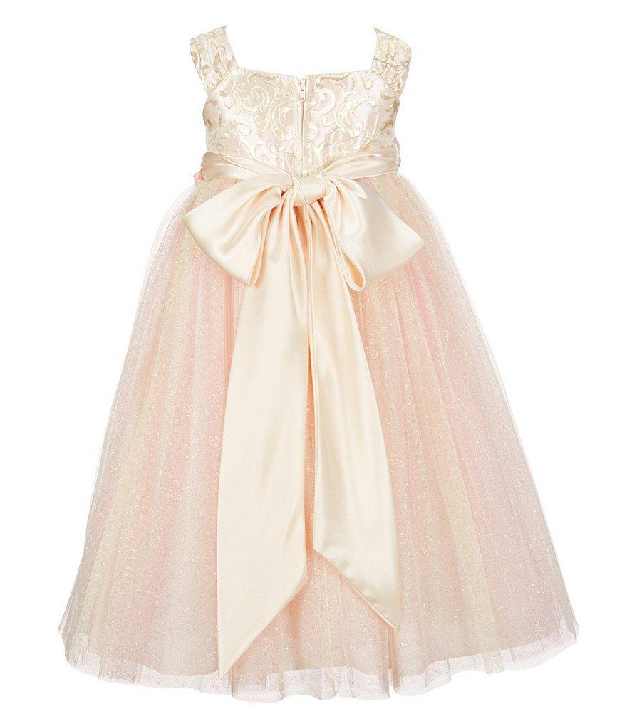 0370f67936 Chantilly Place Little Girls 2T-6X Ballerina-Inspired Social Dress