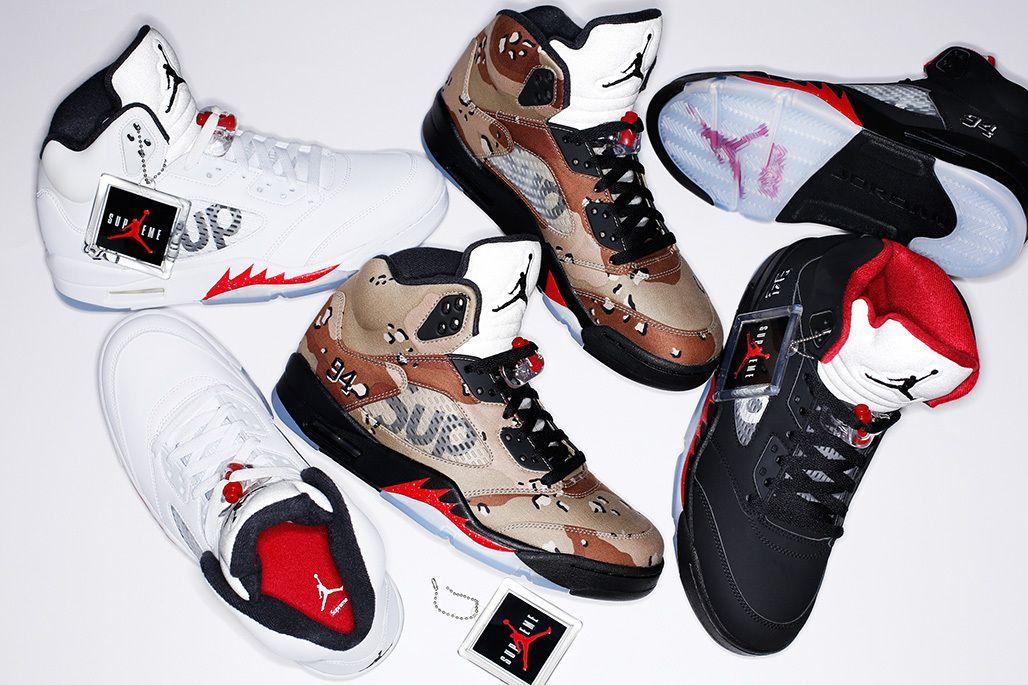 047e23309e47 Sneaker4life - Supreme   Air Jordan 5