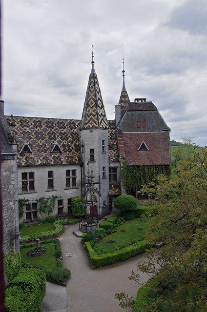 Château de La Rochepot - Cote-d'Or, Burgundy, France