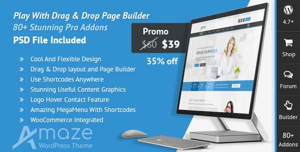 Corporate Responsive Multipurpose Wordpress Theme File