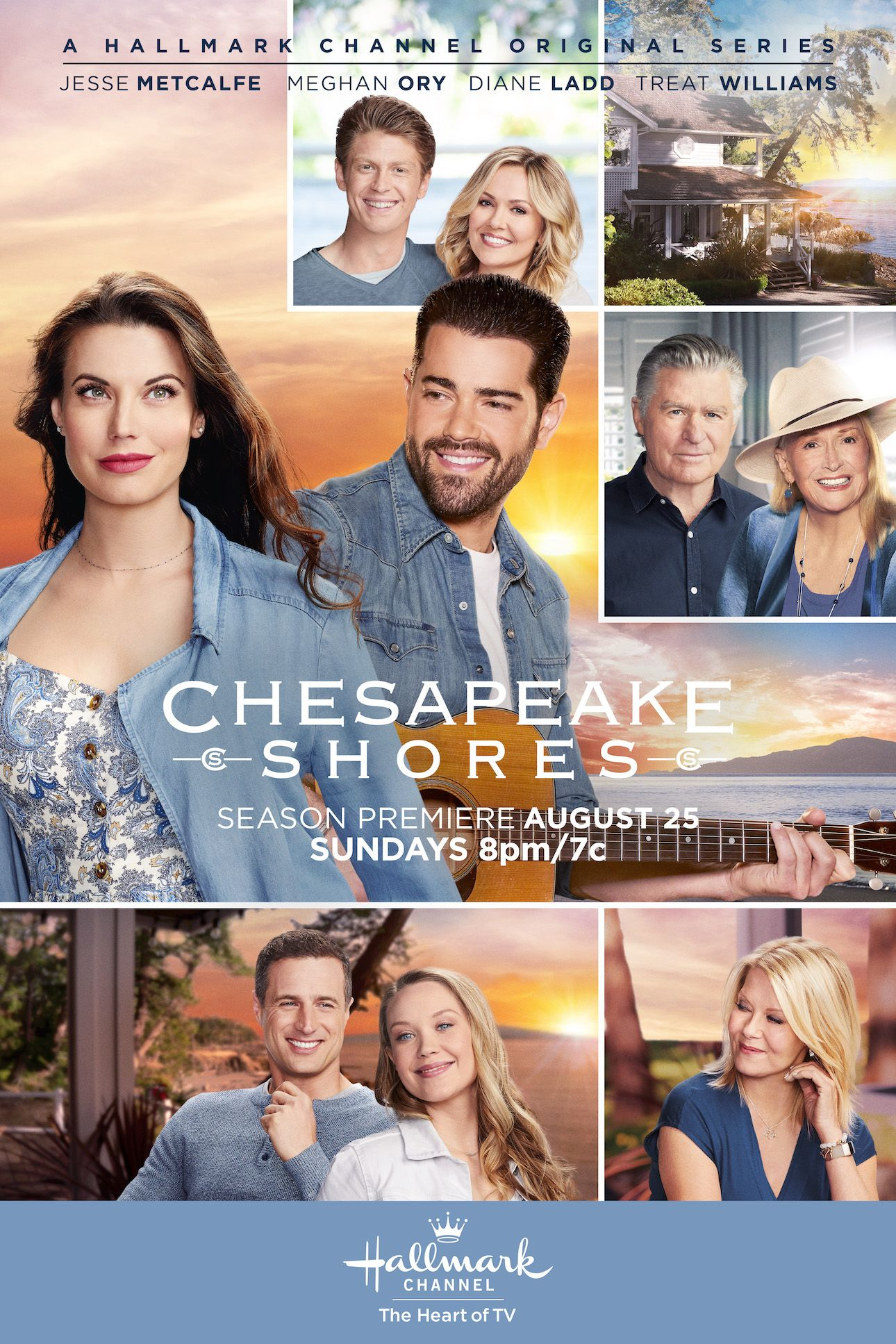 Don T Miss Season 4 Of Chesapeake Shores As The O Brien Siblings Try To Navigate The Emotional Challenge Chesapeake Shores Chesapeake Shores Hallmark Tv Series