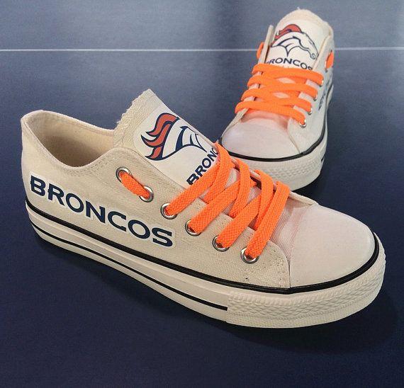 purchase cheap ef45b 17c94 denver broncos shoes broncos sneakers denver broncos tennis shoes  Fashionable…