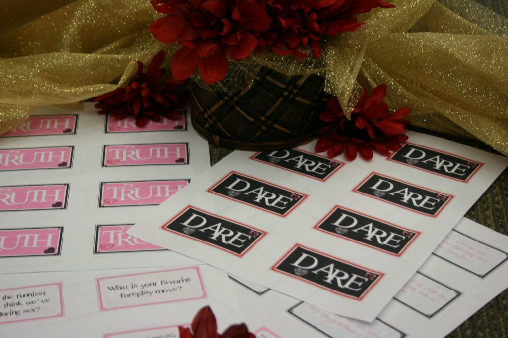 Couples truth or dare bedroom game love games for