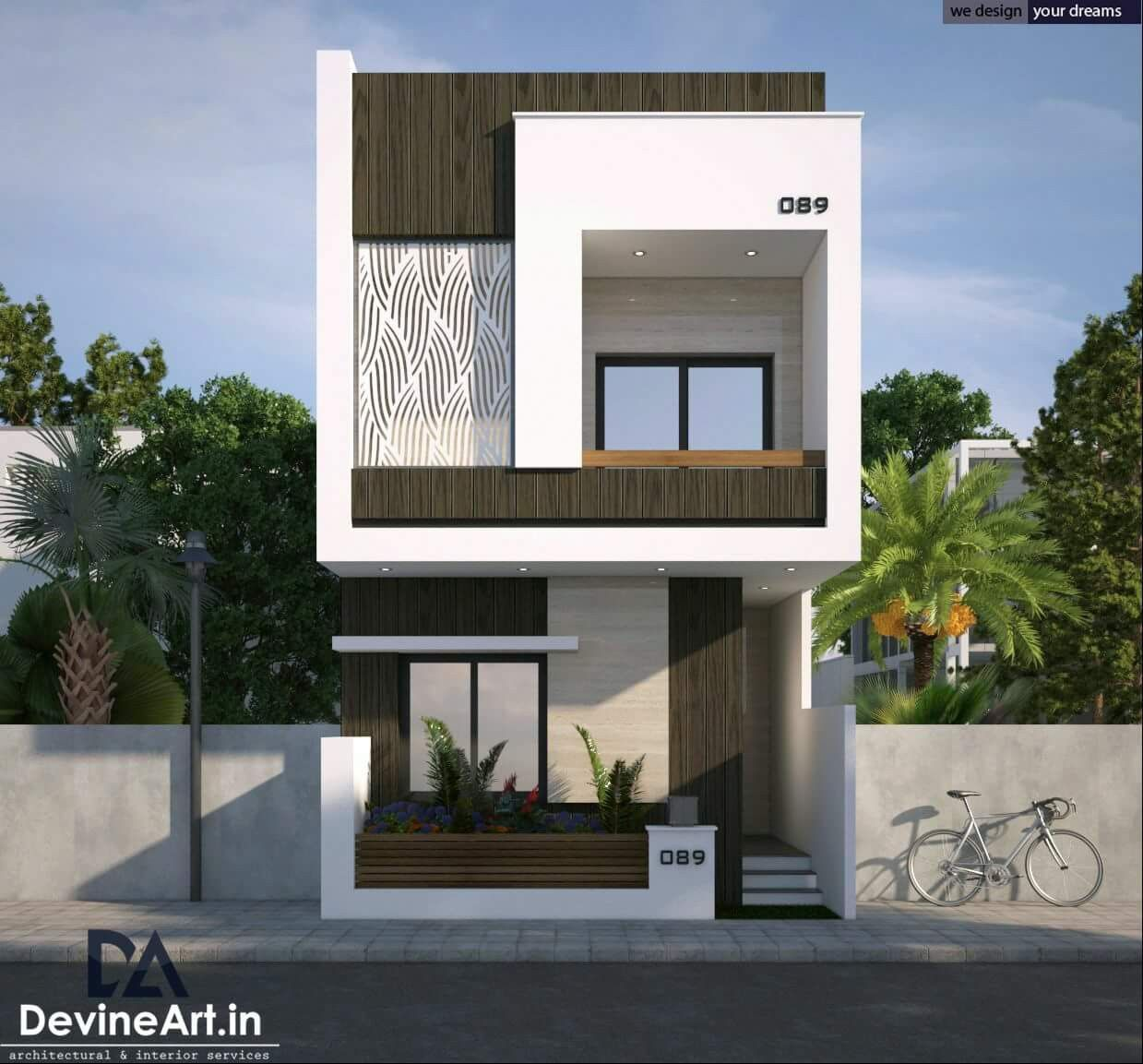 Best Simple Design House Front Design Modern House Exterior House Architecture Styles