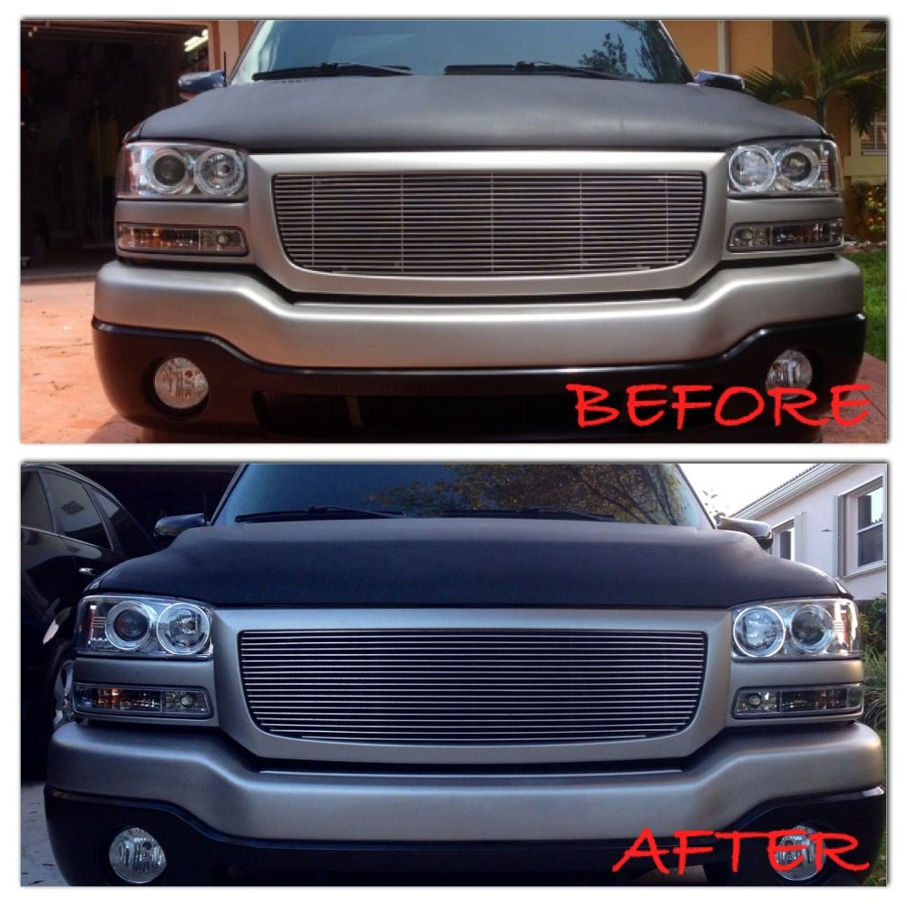 Sierra Nbs Hd Hood Conversion Before After Chevy Truck Forum