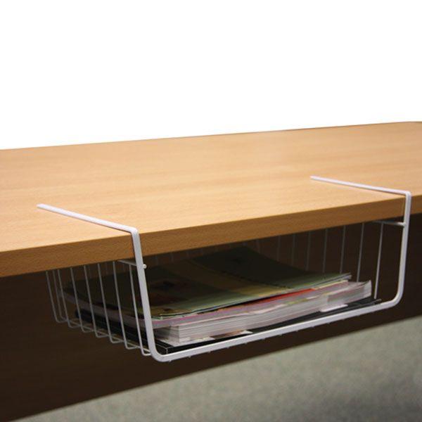 office storage baskets. Set Of 2 Under-shelf Storage Baskets - Not Beautiful But Useful! Office