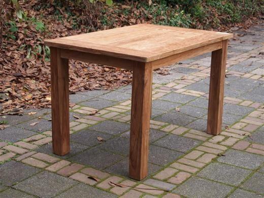 Teak Gartentisch 120x80cm Teak Gartenmobel Gartenmobel Tisch