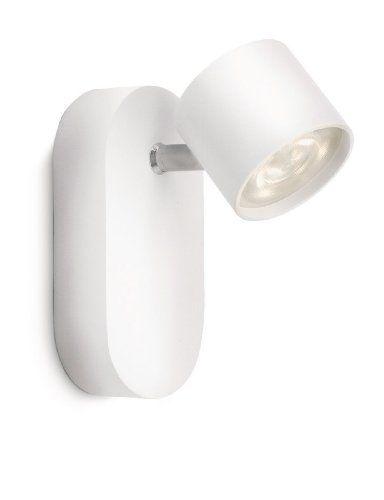 Philips STAR Spot LED Lumière d\'Intérieur Blanc Aluminium ...