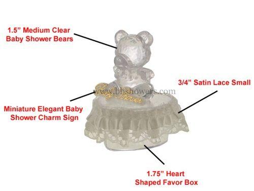 Baby Shower Favor #025. For more details, please visit our website www.lacrafts.com (Recuerdo para Baby Shower #025. Para más detalles, incluyendo opciones de color y los precios, por favor visite nuestro sitio web www.lacrafts.com)