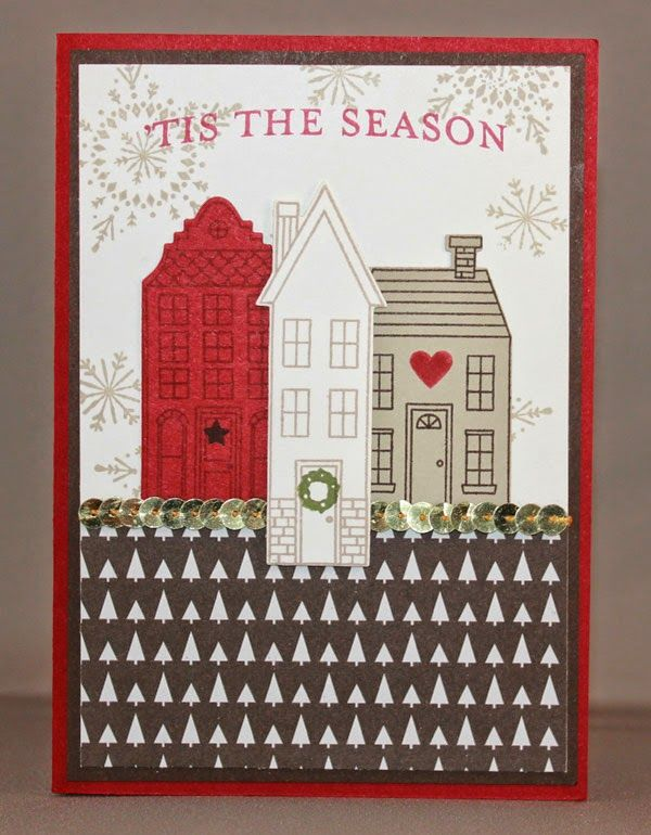 Stampin Up, Holiday Home, Many Merry Stars