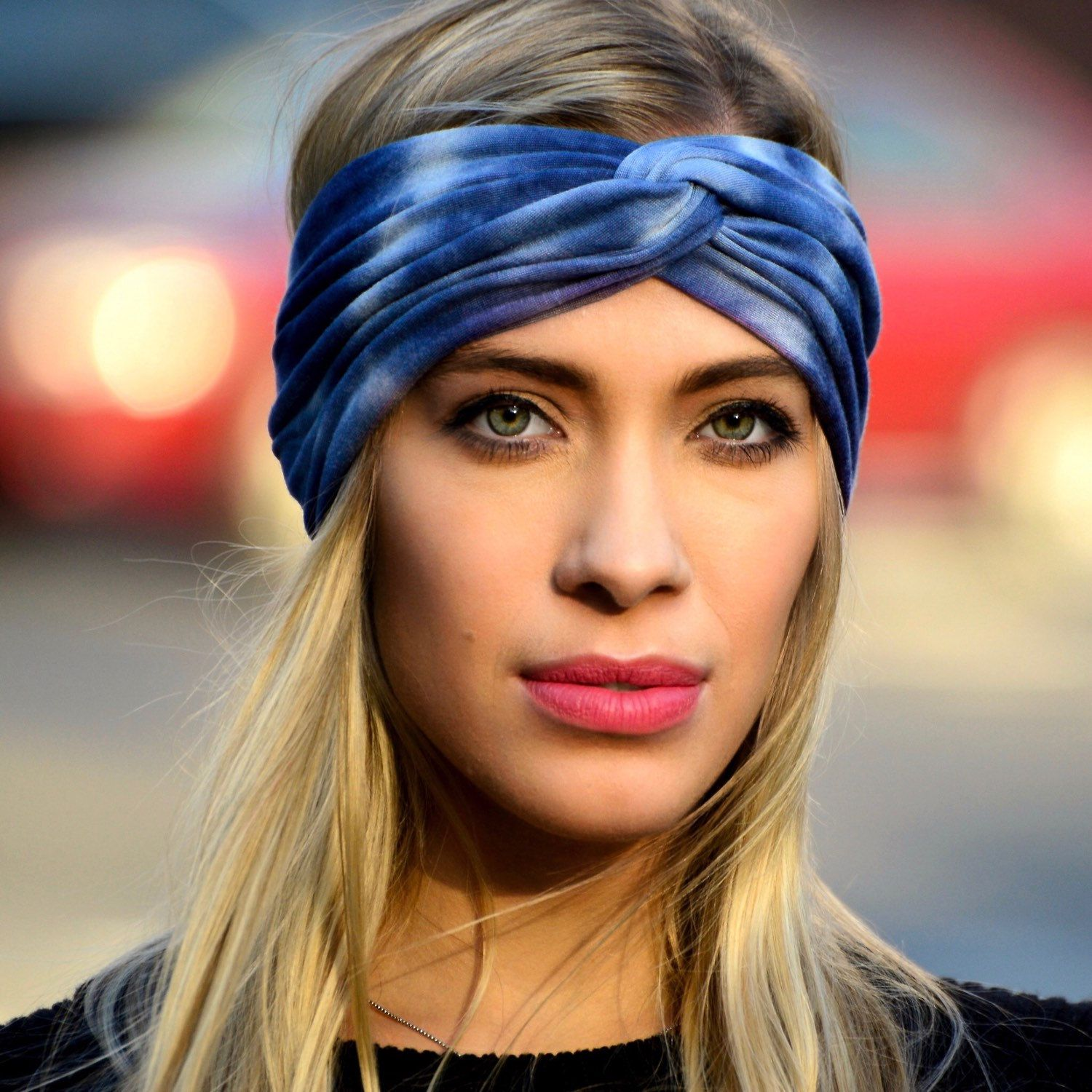 1f8d6278630 Boho Headband Tiedye Turban Headband Gift For Her Spring Fashion ...
