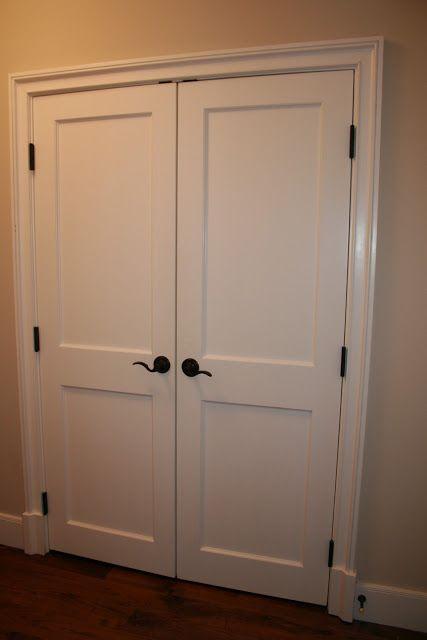 Perfect Pantries Closet Doors White Doors Double Closet Doors