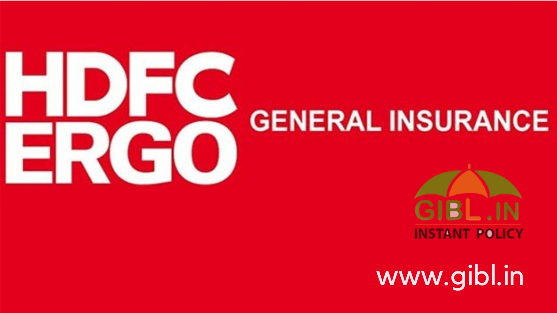 Hdfc Ergo Offers A Plethora Of General Insurance Products If You