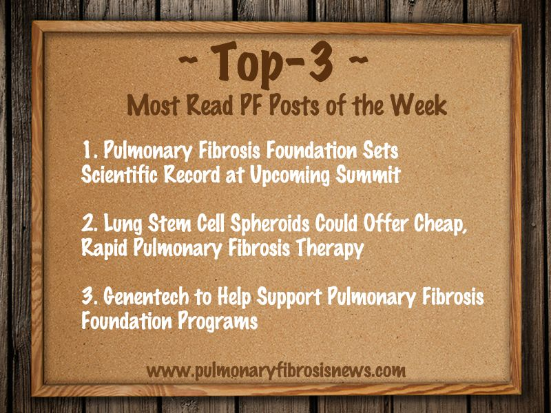 Read more on Last Week's Most Read Posts On Pulmonary Fibrosis.