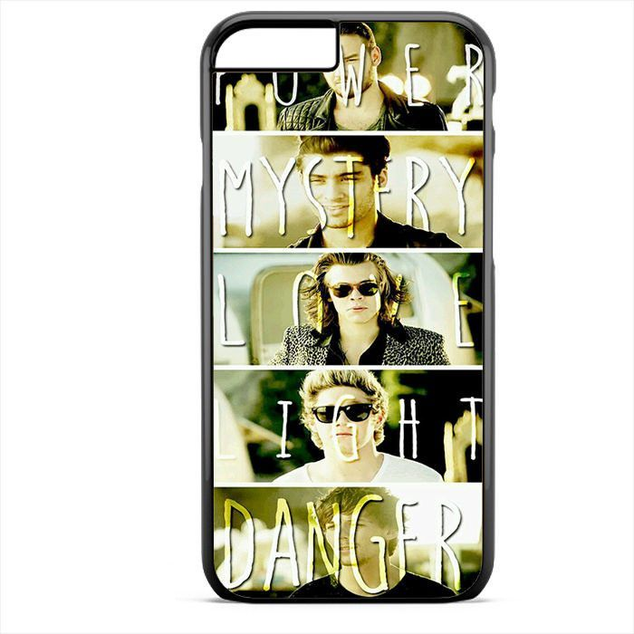 One Direction Power Mystery Love Danger TATUM-8255 Apple Phonecase Cover For Iphone SE Case