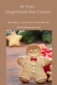 Air Fryer, Gingerbread Man Cookies - Fork To Spoon