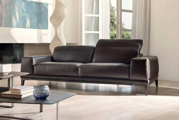 Natuzzi Italia Tempo Leather Sofa - Natuzzi Italia Philadelphia ...