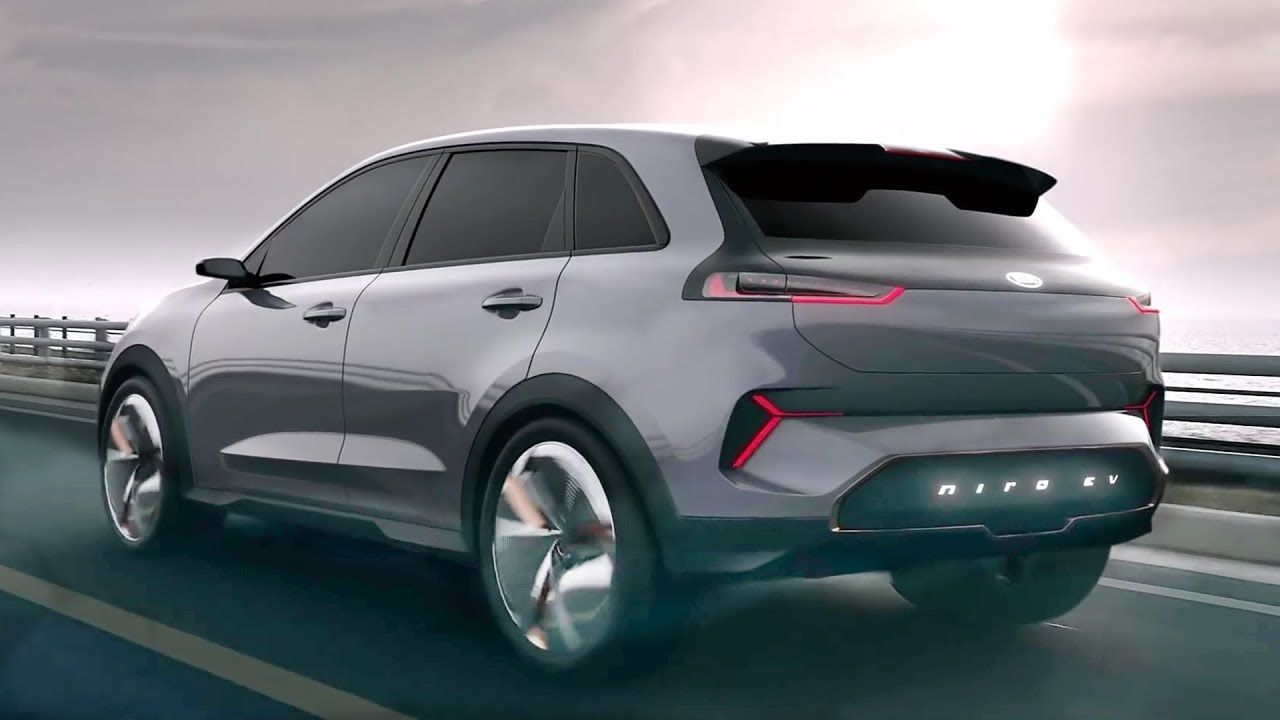 2020 Kia Niro Ev Interior Exterior And Drive