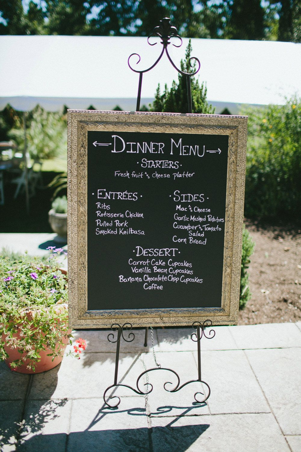 Relaxed Backyard BBQ Wedding
