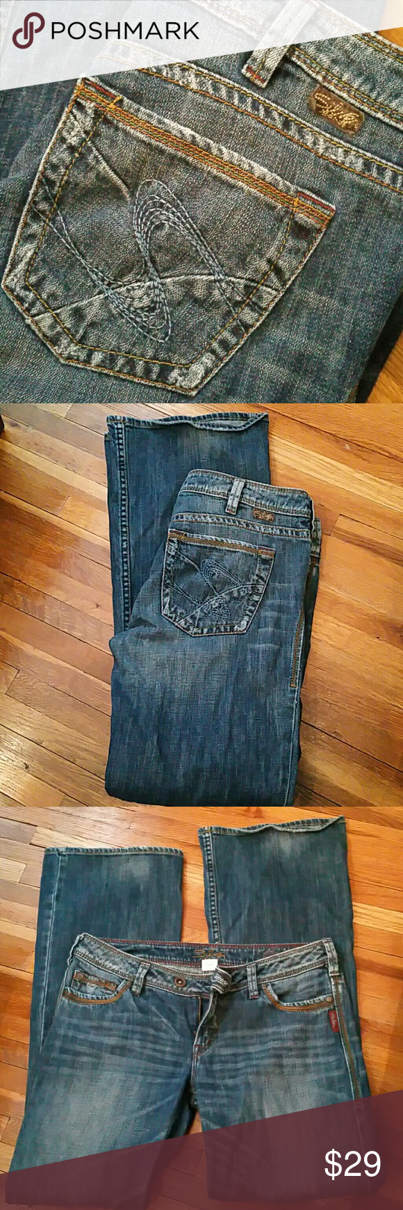 Silver Tina Jeans 31x33. Silver Jeans Jeans Boot Cut