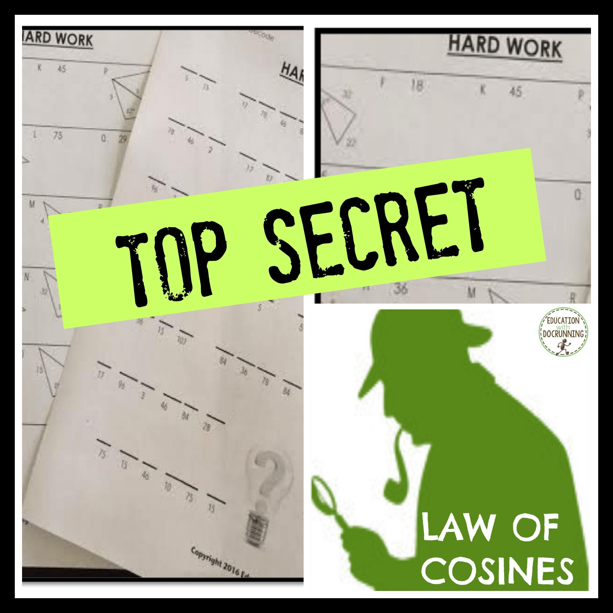 Law Of Cosines Coded Message For Trigonometry Recently