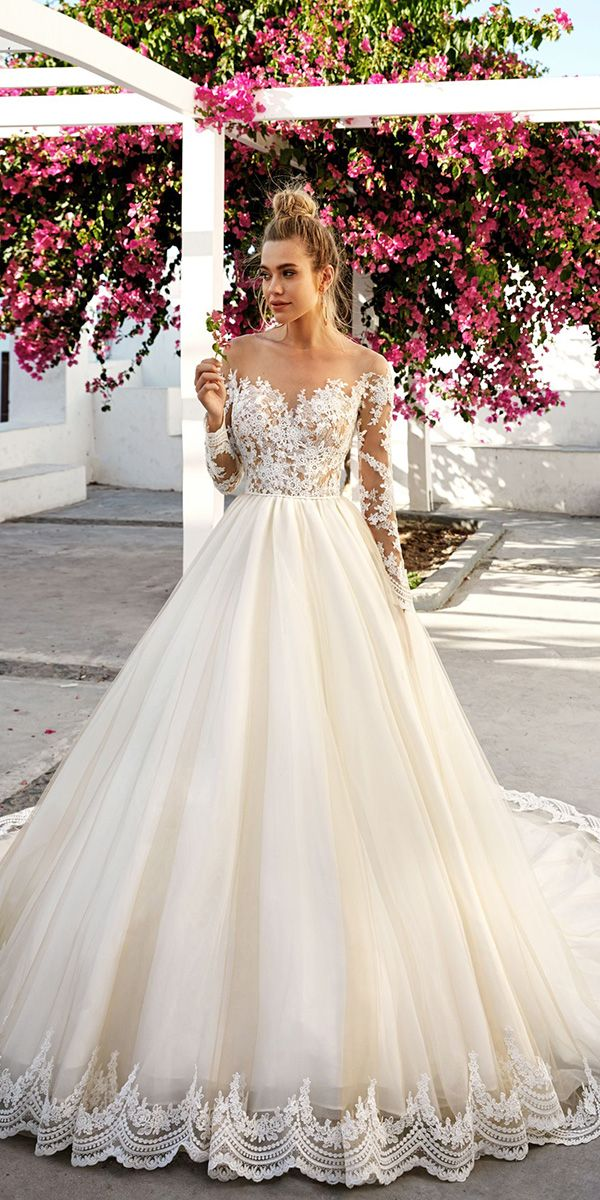 Designer Highlight: Eva Lendel Wedding Dresses   Lace ball gowns ...