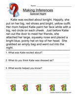 Making Inferences Worksheet La Pinterest Inference Worksheets