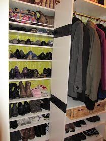 pimp your billy regal garderobe schuhregal schuhschrank offen hack hacking shoes jacket billy. Black Bedroom Furniture Sets. Home Design Ideas