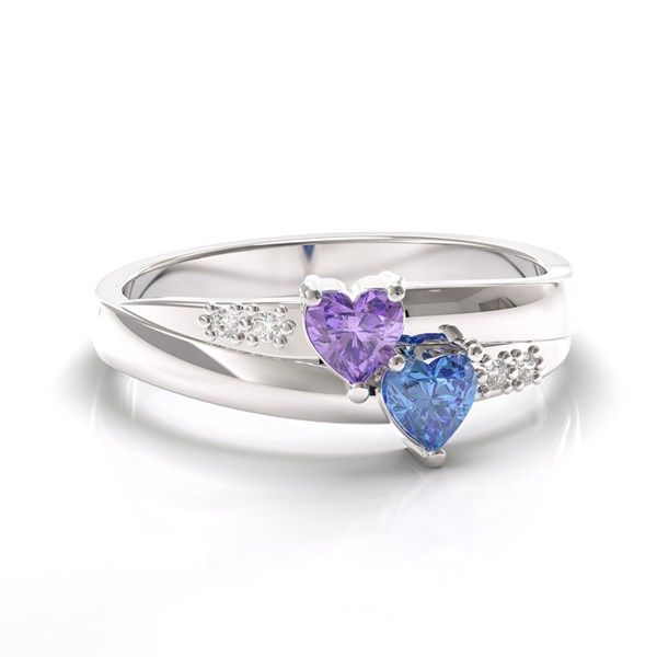 Perfect Temporary Engagement Rings To Propose With Heart Stone Ring And Weddings