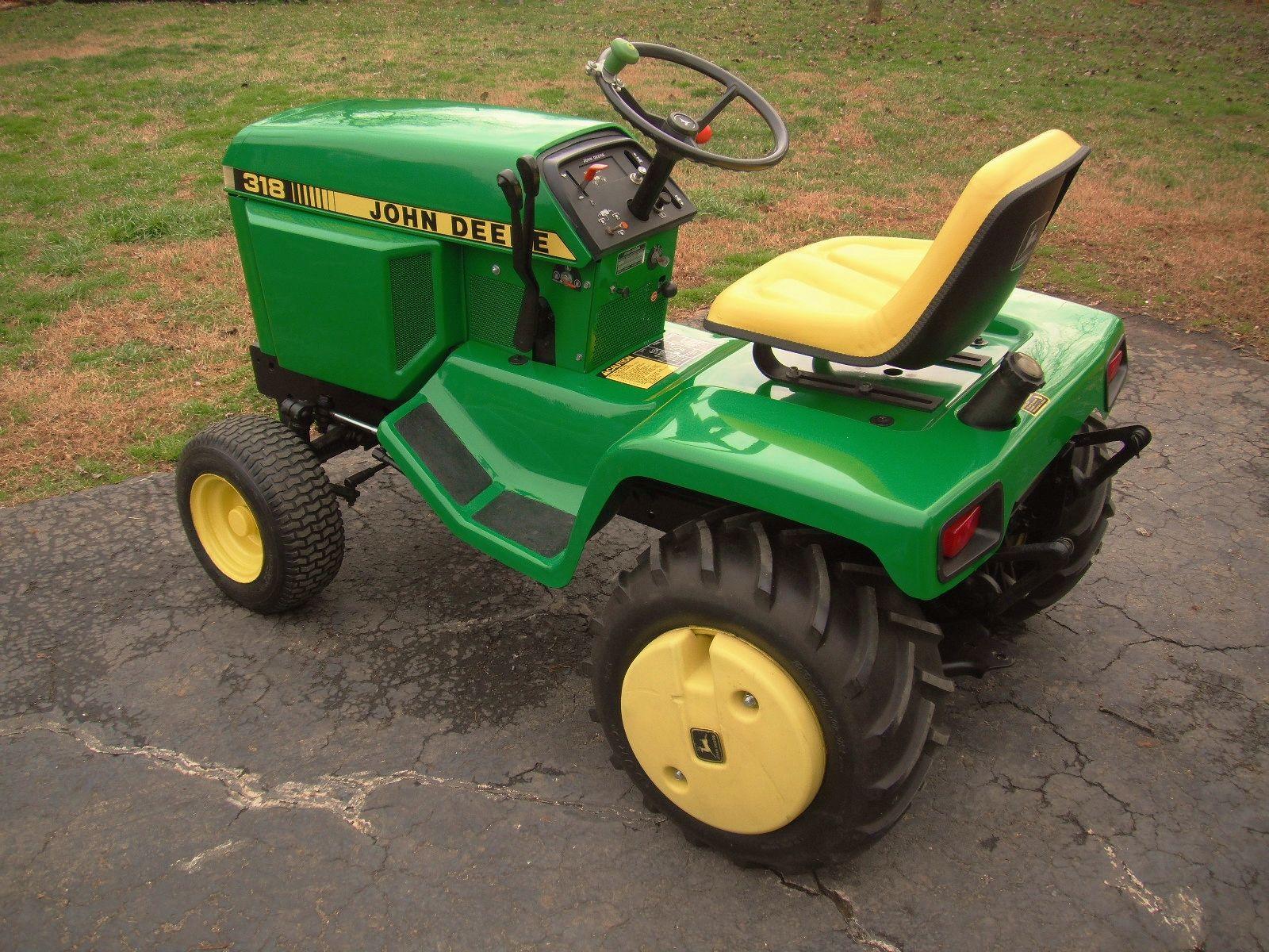 John Deere 318 Lawn Tractor parts blows Fuses