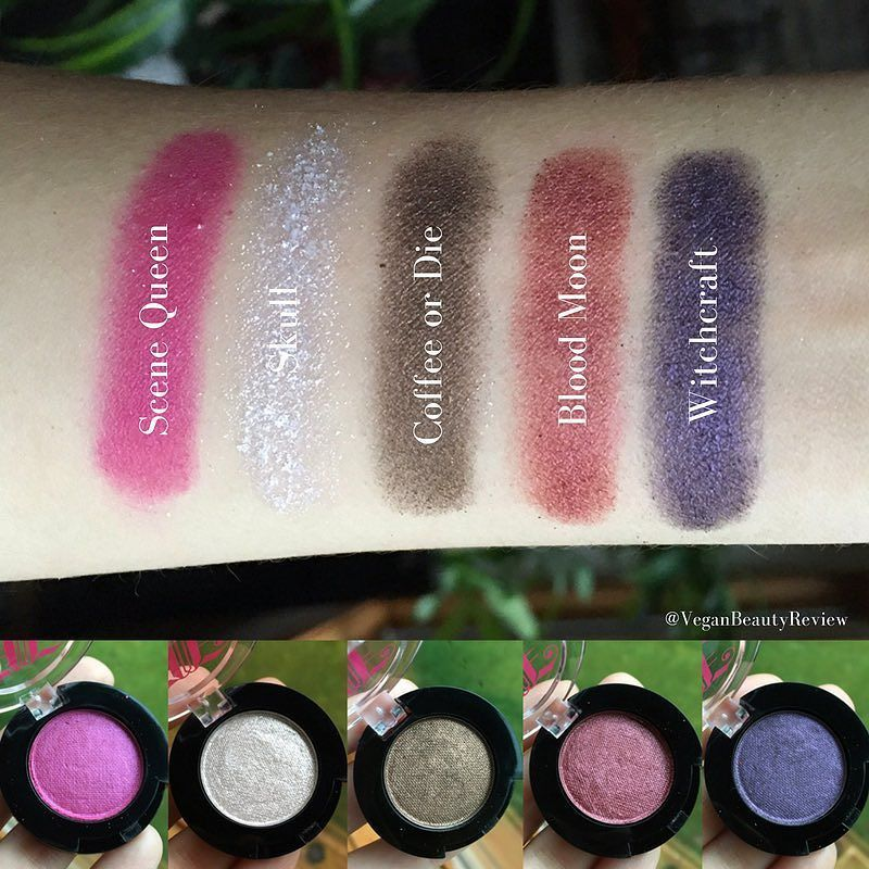 And here are the swatches I promised of @johnnyconcert's Fall 2016 Amplified Eyeshadows!  Which shade(s) are you most eager to try? xx #organic #allnatural #vegan #crueltyfree