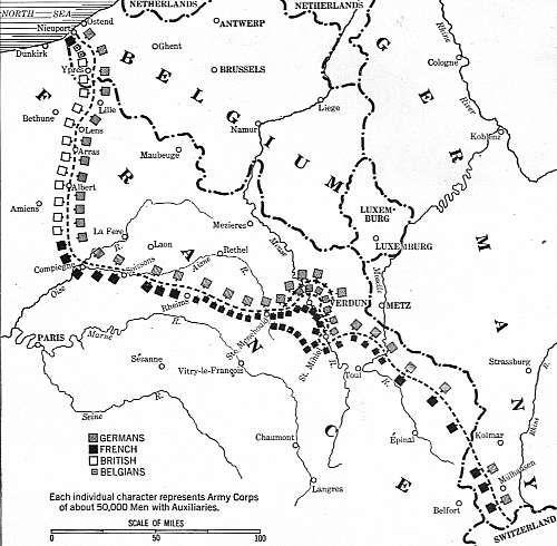 All Things Beautiful World World I Part The Beginning - Us history map activities world war 1