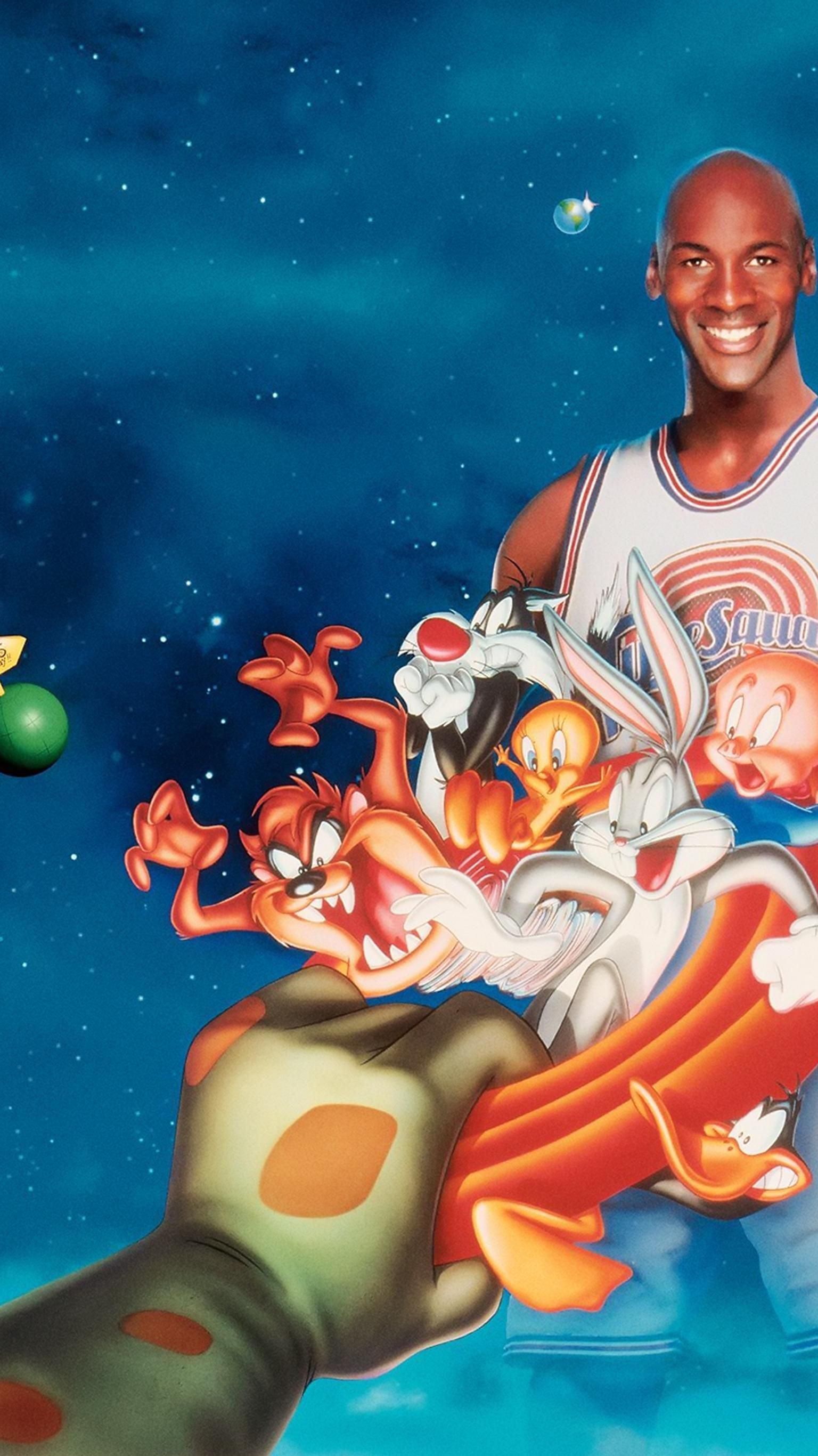 Space Jam 1996 Phone Wallpaper In 2020 Space Jam Looney Tunes
