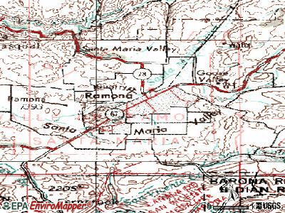 Ramona Topographic Map Ramona California Pinterest Maps - California map ramona